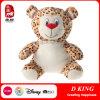 Le léopard bourré par jouet personnalisé de peluche joue des animaux pour des gosses