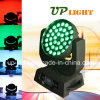 36pcs 10W LED RGBW 4en1 moviendo la cabeza