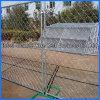 Eslabón de cadena de acero galvanizado de PVC / valla de malla de alambre