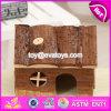 Il criceto nano di legno della Camera di lusso dell'interno dell'animale domestico dei nuovi prodotti mette in gabbia W06f020