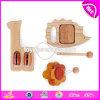 De beste Muzikale Kinderen die van het Speelgoed van de Baby van het Instrument Houten Muzikale W07A122 leren