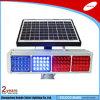 セリウムRoHS CCC Certificated Double Colors (赤く及び青の) Solar Traffic Light