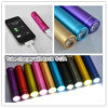 Powerful LED Flashlight (S12)를 가진 3000mAh Aluminum Portable External Battery Charger