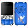 2 teléfono móvil grande dual T7 de la luz del tacto de la venda SIM