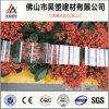 0.8mm中国の工場は840 930を波形を付けられる1050年のポリカーボネート指示し温室および育成の小屋のためのシートに屋根を付ける