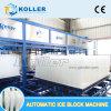 Машина блока льда Koller Dk200 с огромным блоком льда для охлаждать рыбозавода конкретный