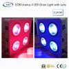 COB Urano 4 LEDS de luz para crecer plantas medicinales (Lente).
