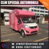 ¡Caliente! ¡! ¡! Carro móvil del alimento 4*2 con talla modificada para requisitos particulares