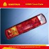 Lamp van de Staart van de Combinatie van Sinotruk HOWO de Achter Lichte (Wg9719810002)