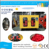 500ml HDPE/PE Schädlingsbekämpfungsmittel-Flaschen-Doppelt-Station-Strangpresßling-Blasformen-Maschine