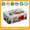 Прямоугольным выбитые металлом олов чая для чая могут упаковывая коробка