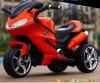 Vélo de moto de pédale de gosses, moto de chargeur de batterie