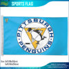 Bandeira azul da equipa de hóquei 3X5' do NHL do vintage dos pinguins de Pittsburgh