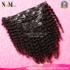 Natural barato 100% Virgin brasileiro Remy Clip em Human Hair Extension