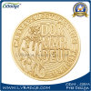 Regalo de encargo del recuerdo de la moneda de oro del metal