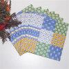 Favores de partido de la decoración colorida Diseño servilletas de papel