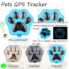 Mini moda mascotas rastreador de GPS con IP66 Resistente al agua V30
