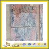 Tuile multicolore rouge chinoise de granit pour le plancher et le mur