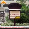 Популярным используемый зданием почтовый ящик металла