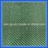Panno di seta d'argento di seta verde della fibra del carbonio