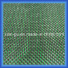 Paño de seda de plata de seda verde de la fibra del carbón