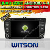 Skoda Octavia (W2-A6703)를 위한 Witson Android 4.4 System Car DVD