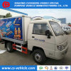 4*2 Foton Mini Refrigerated Van Trucks Freezer 1.5tons Kostenbelastungs-Preis