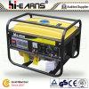 gerador portátil da gasolina 2kw com cor amarela (GG2500)