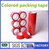 Cinta colorida del embalaje de la alta calidad/cinta de empaquetado roja