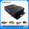 Bi-directionnel localiser 2 le traqueur Vt1000 de véhicule de SIM 3 SIM GPS avec le contrôle duel de l'essence Camera/4