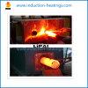 50kw中間周波数の誘導の丸棒の熱い鍛造材の加熱装置