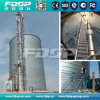 Silo de aço galvanizado / Pellets de madeira Silo de armazenamento com certificado Ce
