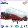 45m3 40000L 대량 시멘트 유조선 트레일러 시멘트 트럭 유조선