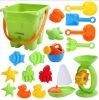 Комплект игрушки пляжа песка детей малышей OEM пластичный цветастый