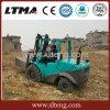 3-4 tonnellata 4WD tutto carrello elevatore diesel del terreno di massima fornito di motore di Yanmar