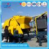 Misturador concreto móvel de motor Diesel com bomba