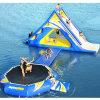 Ascensione gonfiabile e Bouncer della tela incatramata del PVC del gioco della sosta dell'acqua