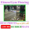 Suelo barato profesional de Rubber/PVC/EPDM para la gimnasia/la aptitud en modo del azulejo/del rodillo/el enclavijarse