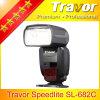 Travor Gn60@ISO100 Speedlite Cámara SL682 de Canon DSLR Wiith E-TTL II.