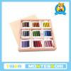 Les tablettes de Matériau-Couleur de Montessori (3ème cadre)
