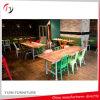Remise de la laque métallique vert Cafe Chaises (NC-69)