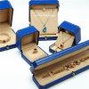 Caixa de empacotamento ajustada da jóia plástica Handmade luxuosa do presente