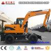 Surtidor de China del fabricante de la fábrica del excavador X120-L de la rueda grande buen
