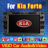 7 '' navegación del GPS Satnav del reproductor de DVD del sistema estéreo de la radio de coche del Forte de HD KIA
