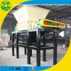 Basura sólida del eje doble/desfibradora del plástico/de la espuma/del metal/del neumático