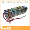 60V 11ah Li-ion Battery Pack