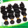 Волосы бразильянина объемной волны 100% качества ранга 7A нарисованные двойником