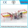 Línea de recubrimiento en polvo manual para pintar productos metálicos
