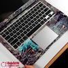 3D Huid van het Notitieboekje van de Douane voor Laptop Stickers