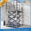 Idraulici esterni stazionari Scissor la piattaforma dell'elevatore per le merci di caricamento